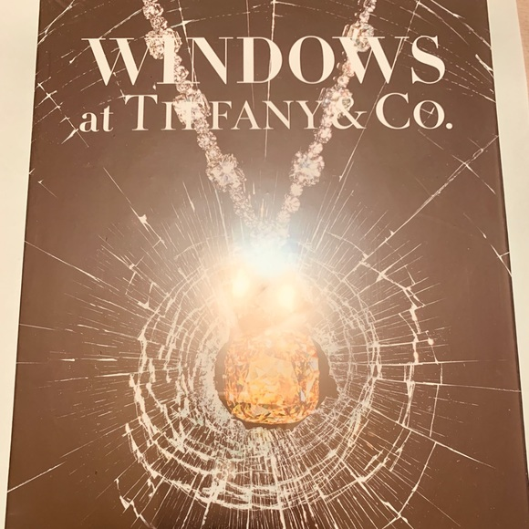Windows at Tiffany & Co. Book great coffee table